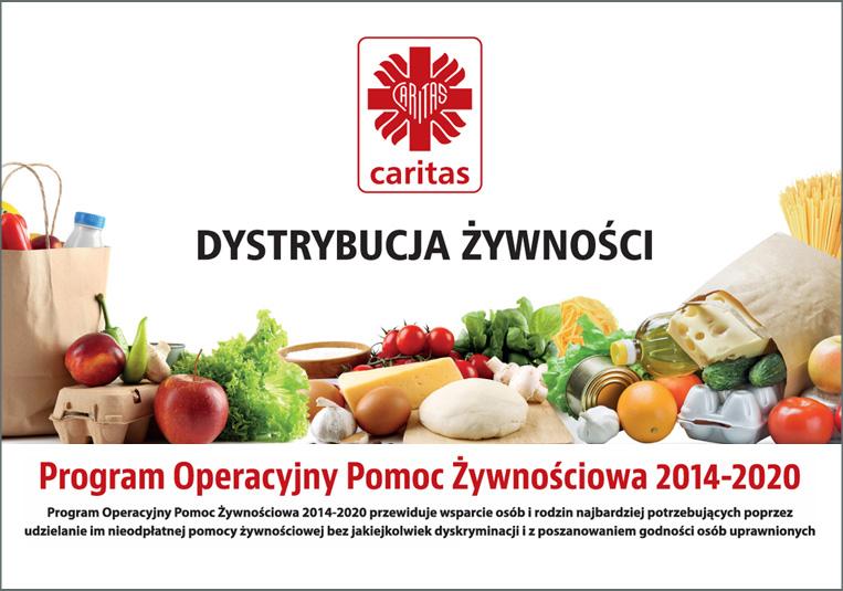 FEAD – Program Operacyjny Pomoc Żywnościowa 2014-2020 | Caritas  Archidiecezji Częstochowskiej